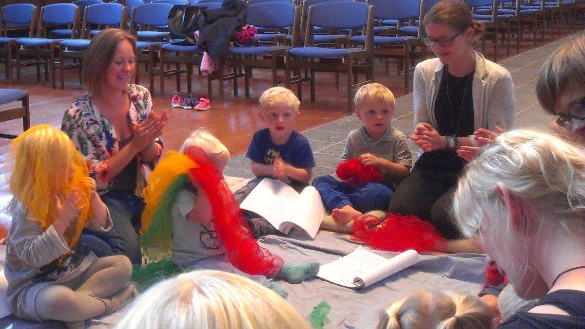 AFLYST - Børnehavegudstjeneste