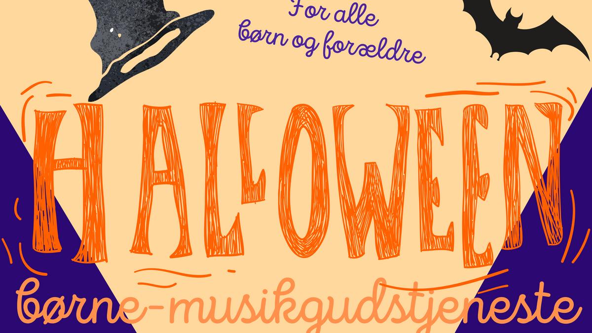 Halloween Gudstjeneste - FLYTTET TIL KL 10!