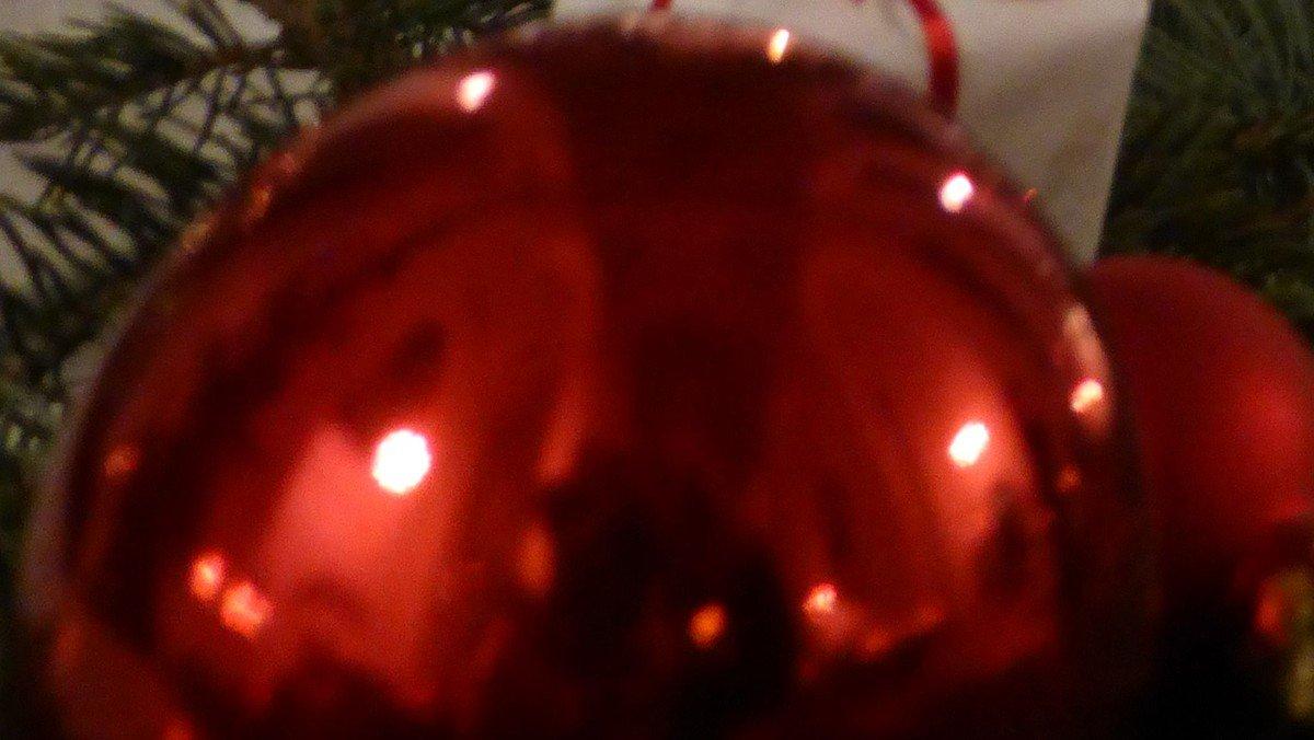 Weihnachtsliedersingen im Kerzenschein