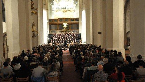 """Gottesdienst und Neujahrsempfang, mit J.S. Bach """"Weihnachtsoratorium"""" Kantate 4"""
