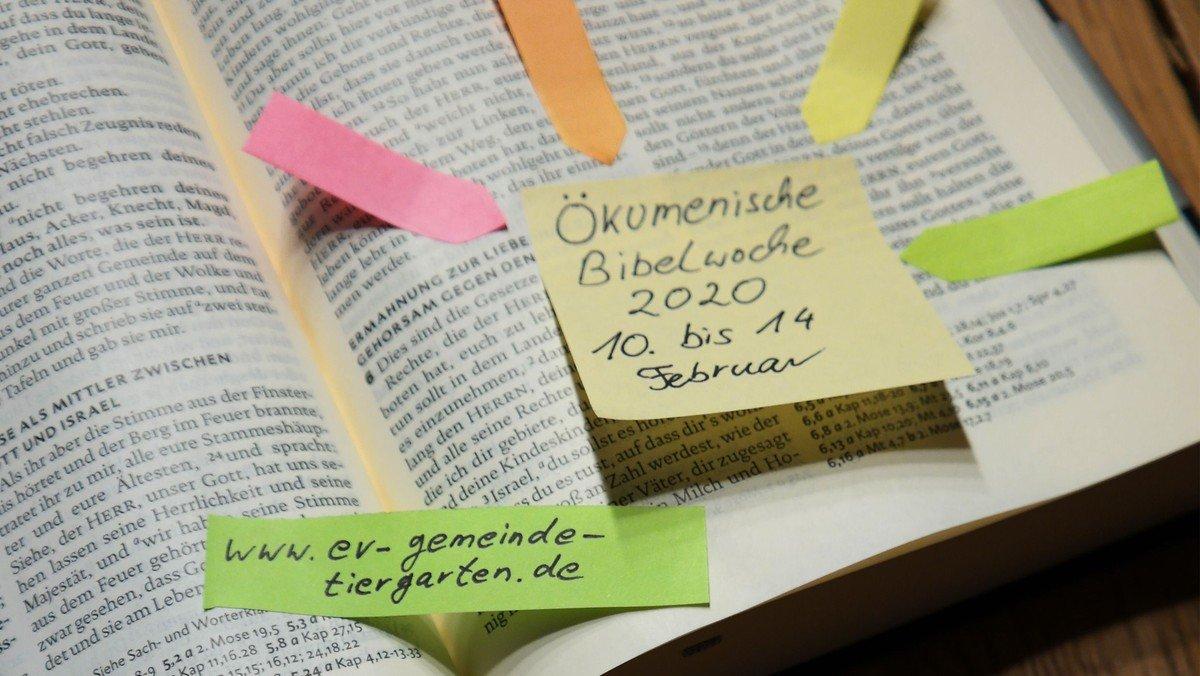 """Ökumenische Bibelwoche """"Vergesst nicht …"""" – Zugänge zum Deuteronomium (5. Buch Mose)"""
