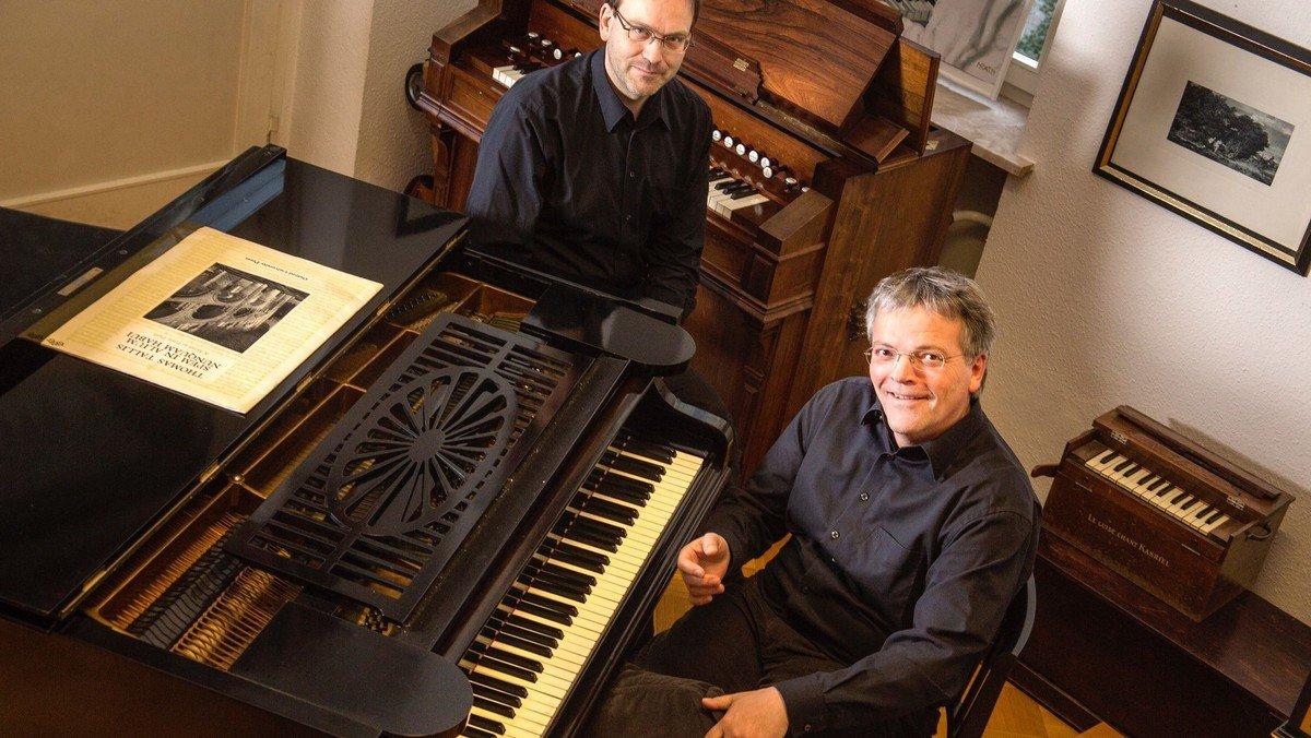 Konzert auf dem frisch überholten Bechstein-Salonflügel und Harmonium