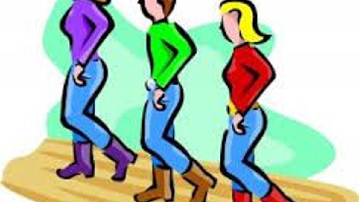 Line Dancing group