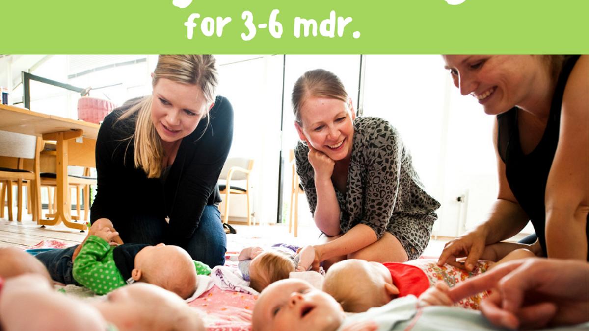 Babysalmesang 3-6 mdr.