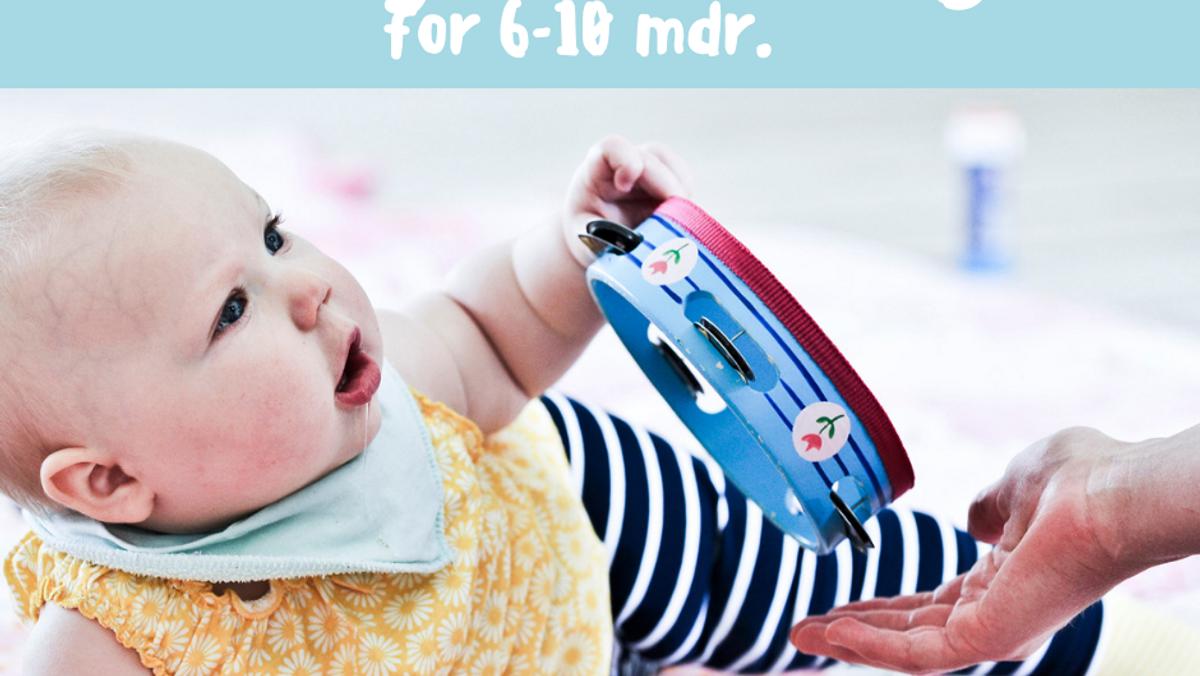babysalmesang 6-10 mdr. AFLYST!!!