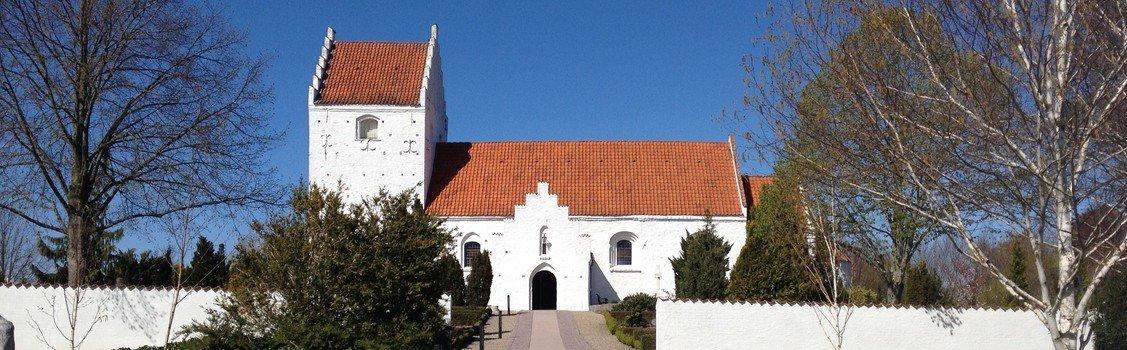 Gudstjeneste i Ågerup Kirke v. Sophie Juel