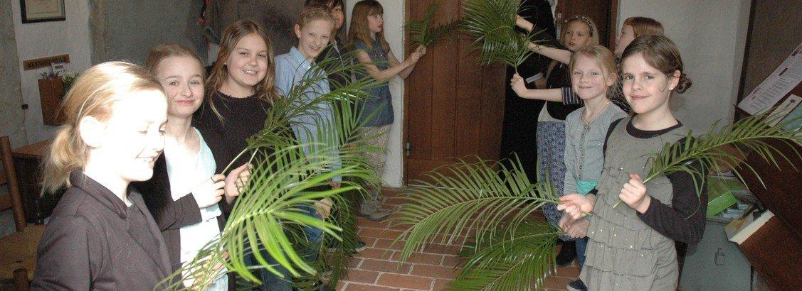 Palmesøndag (Indsættelse)