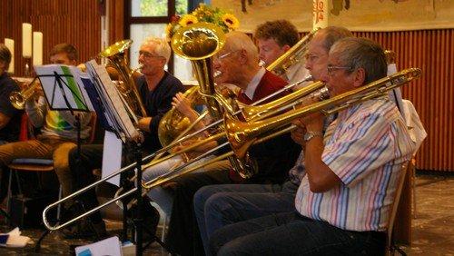 Musik-Gottesdienst mit Blechbläsermusik