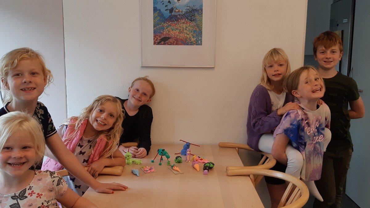Ejstrup kirkes børneklub i Ejstrup kirke