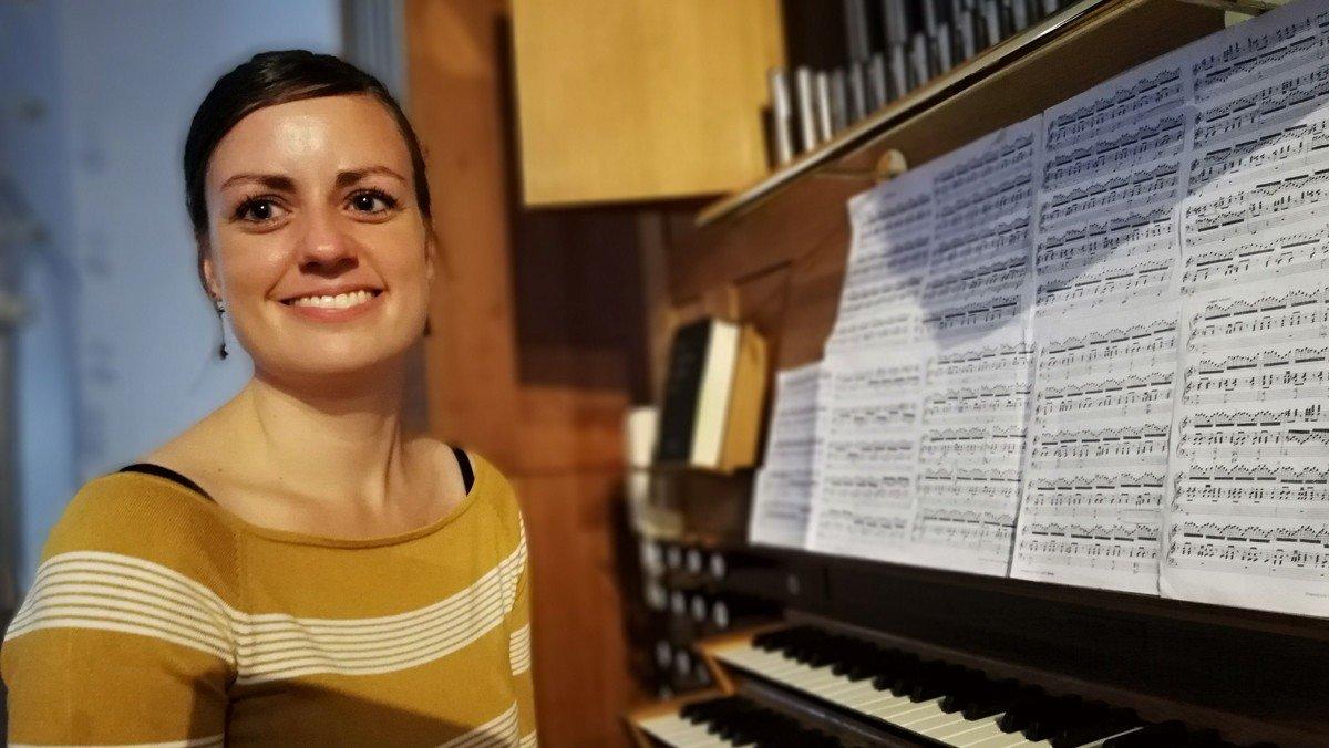 Sommerkoncert med organist Tina Christiansen