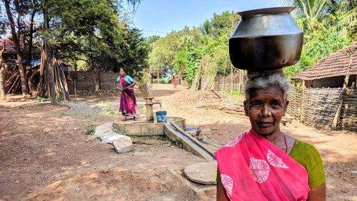 """Wege aus der Ernährungskrise - was macht """"Brot für die Welt"""" gegen den Hunger - mit Bildern von einer Projektreise nach Indien"""