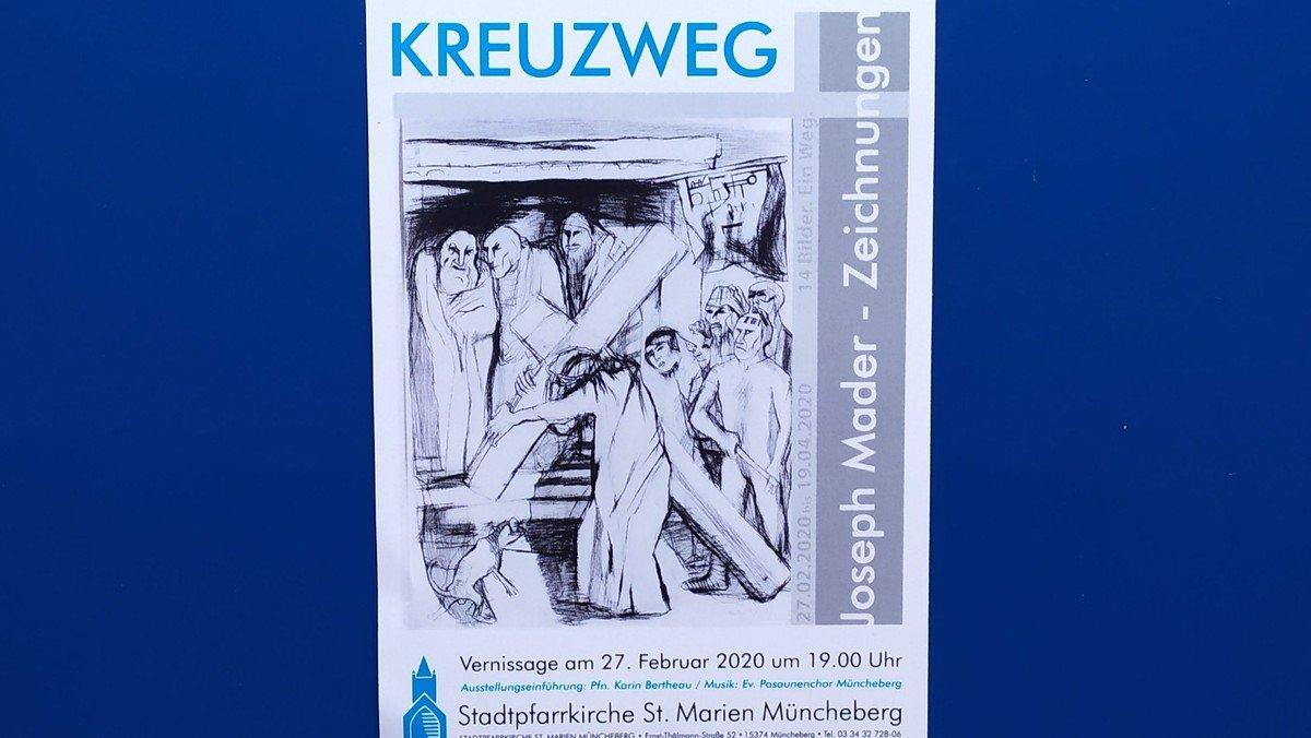 Kreuzweg - Vernissage