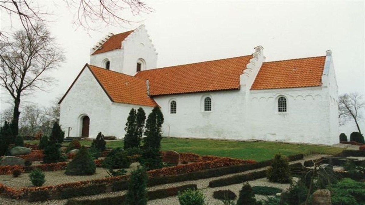 Gudstjeneste i Enslev Kirke