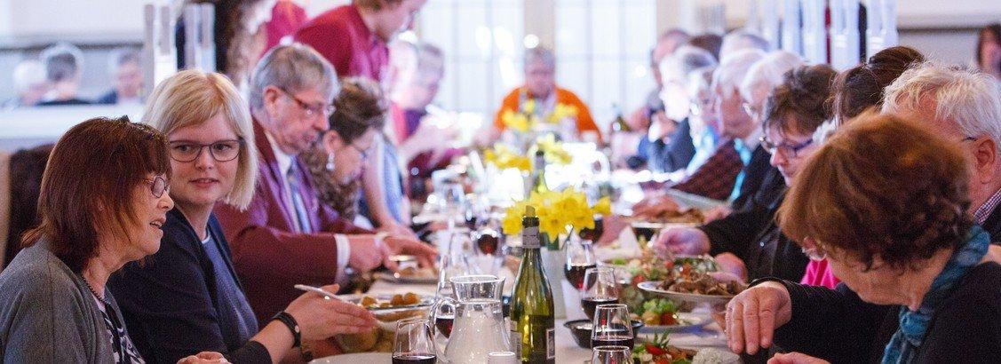 AFLYST - Gudstjeneste Skærtorsdag m. fællesspisning