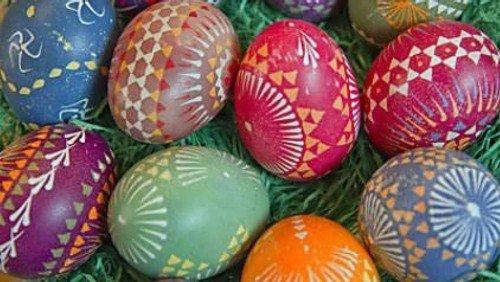 !! FÄLLT AUS !! Kreativabend für Erwachsene: Sorbische Eier – Kunstvolles  für den Osterstrauß