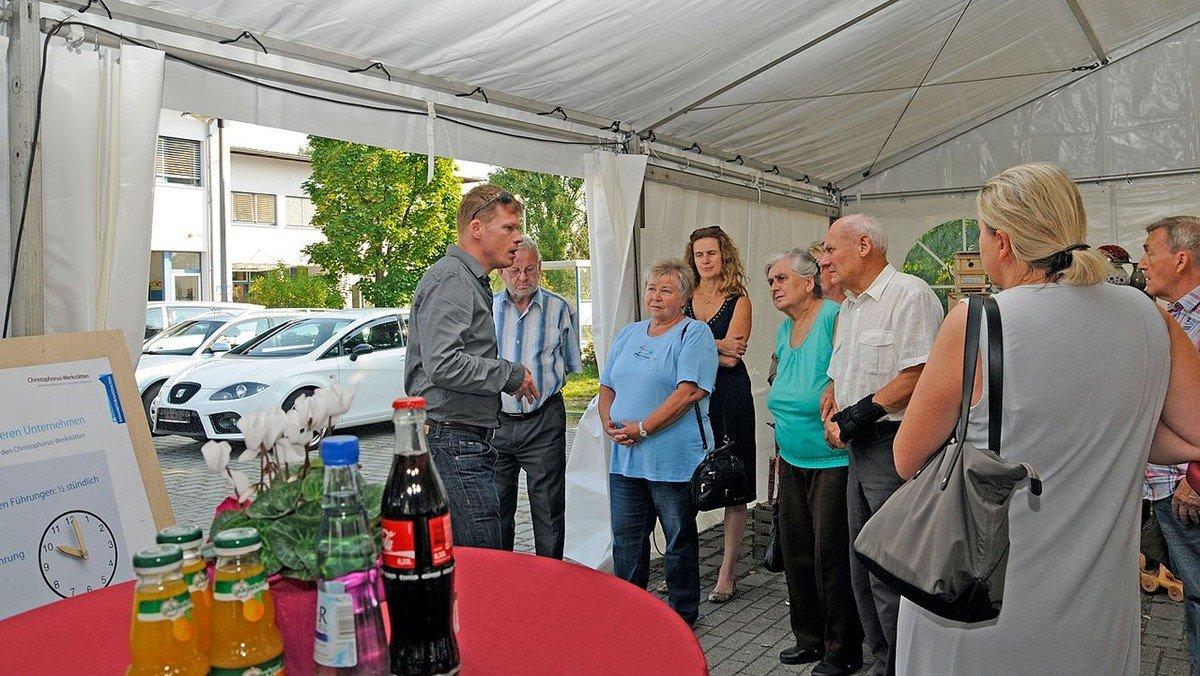 Christophorus-Werkstätten: Tag des besonderen Unternehmens
