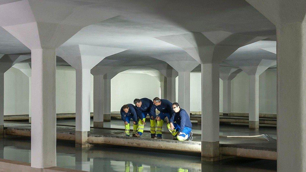 Männer 50+/Besichtigung Wasserwerk Zürich