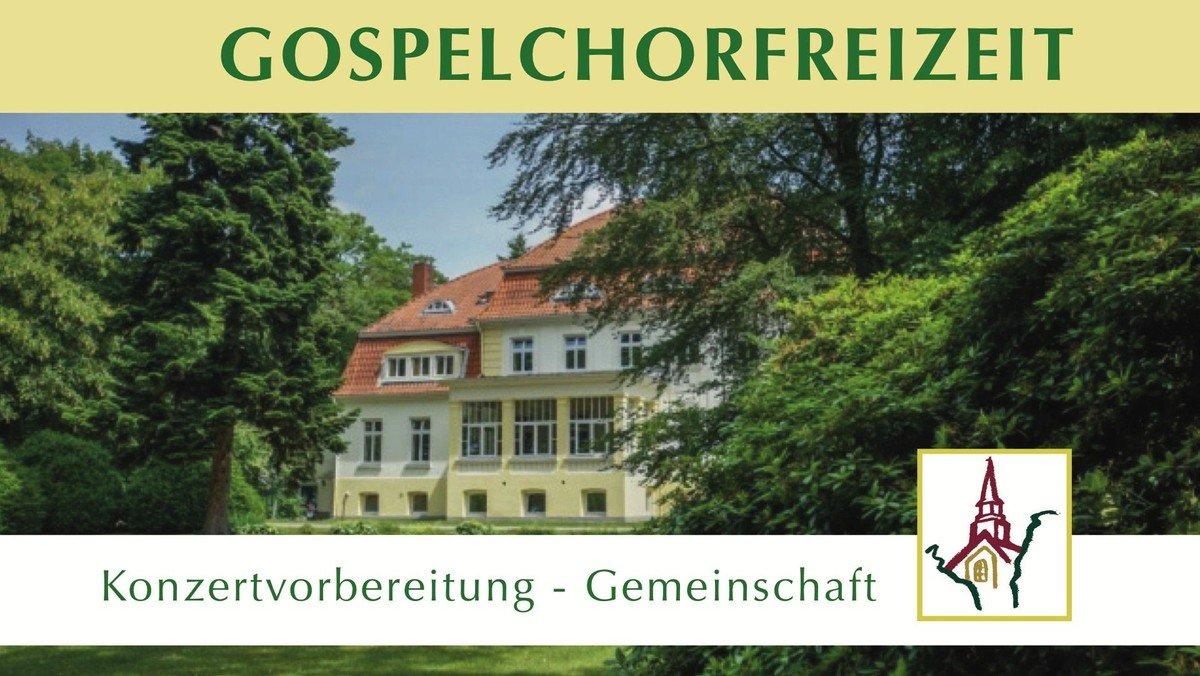 ABGESAGT:  2020 Gospelchorfreizeit · Bildungs- und Tagungszentrum in Barendorf