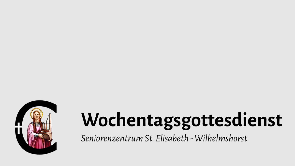 Heilige Messe - Wilhelmshorst