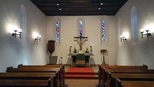 Alt-Schmargendorf: Gottesdienst im Gemeindesaal