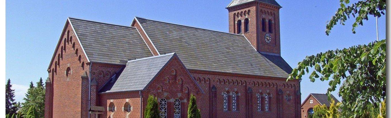 AFLYST - Gudstjeneste i Gludsted kirke