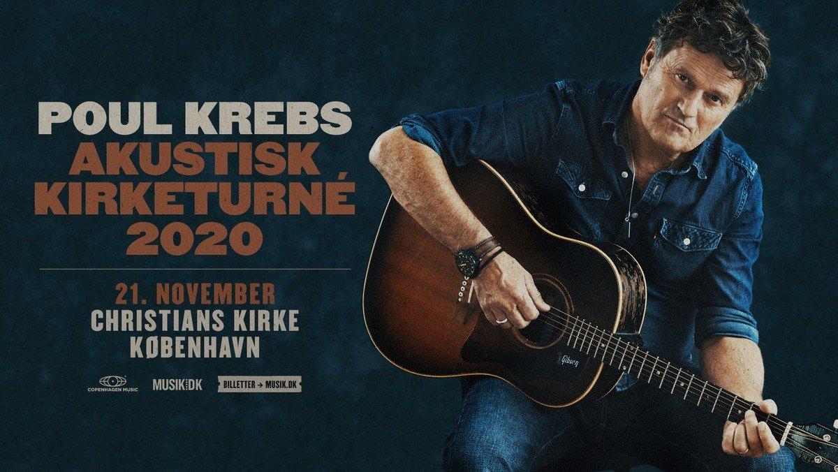 Poul Krebs: Akustisk turne