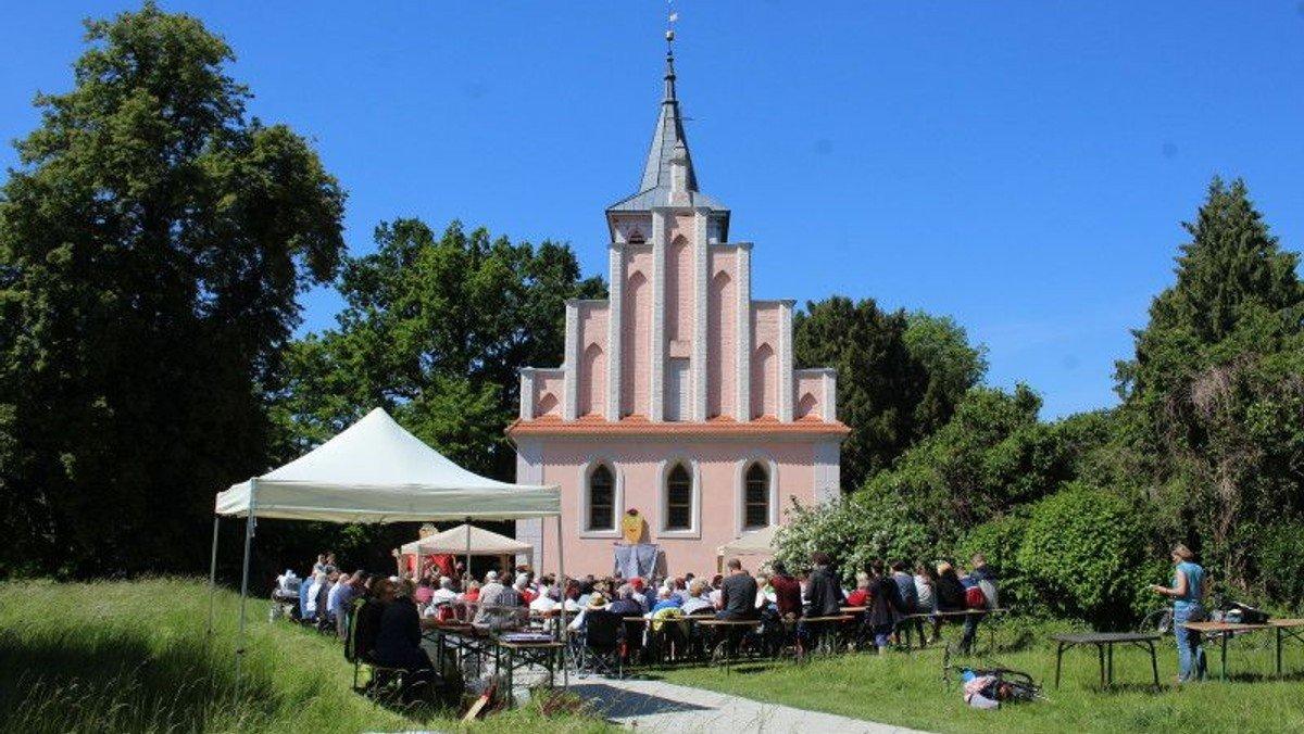 Ökumenischer Festgottesdienst 25 Jahre Nationalparkstiftung in Criewen
