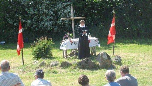 Aflyst. Fælles friluftsgudstjeneste i Broager park, dansk/tysk