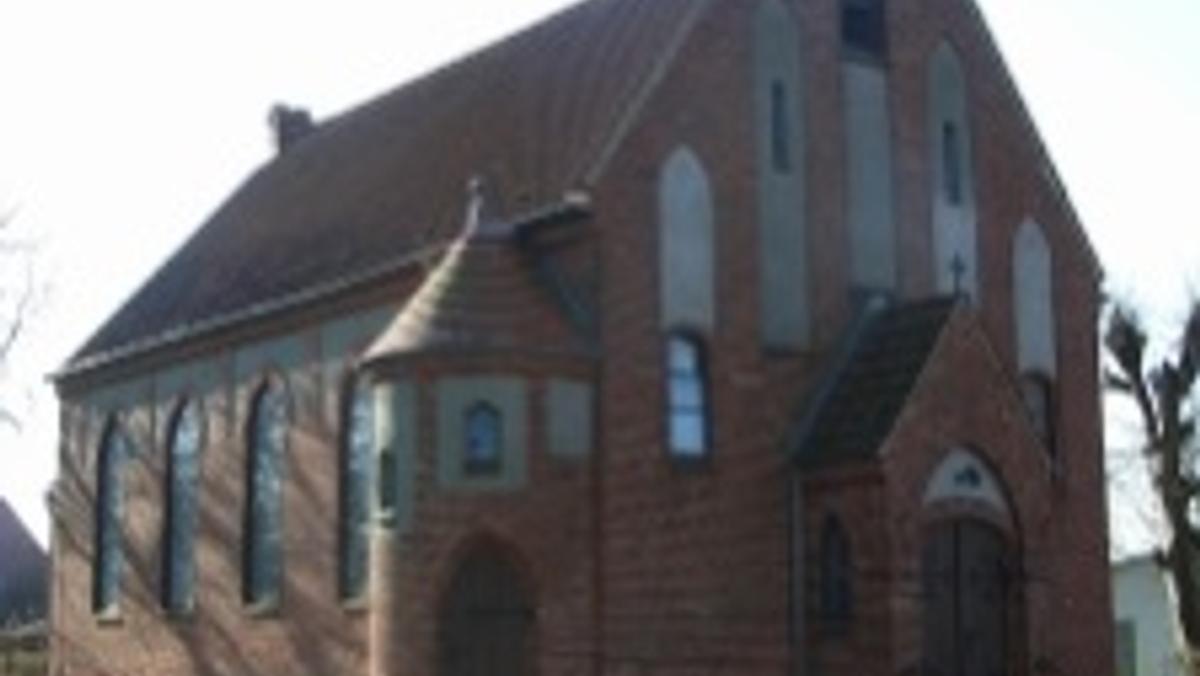 Sonntagsmesse in Gützkow, Abschied von der Kirche in der Gemeinde St. Joseph, anschließend Empfang im Gützkower Pfarrhaus