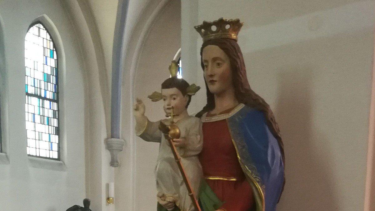 Rosenkranzgebet in St. Joseph, Greifswald