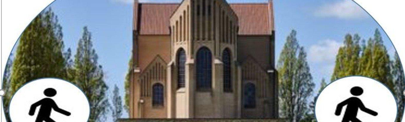 AFLYST Kirkevandring