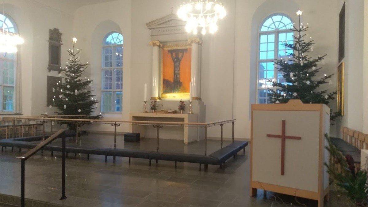 Juleprædiken udsendes på tekst