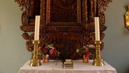 Klostergudstjeneste - husk mundbind