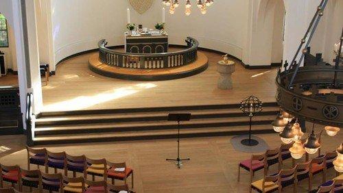 Skærtorsdagsgudstjeneste v. Jesper Engholm og Trine Amalie Fog Christiansen