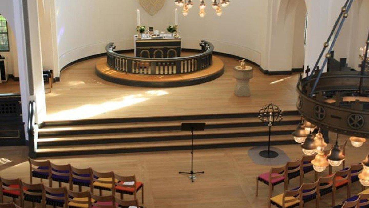 Fællesgudstjeneste for Valbykirkerne i Jesuskirken