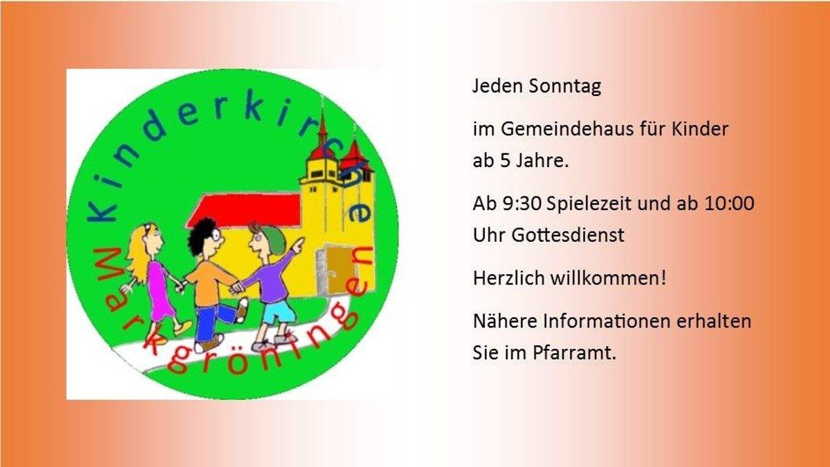 Kinderkirche - Kindergottesdienst