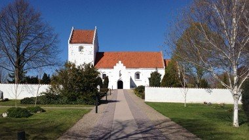 Gudstjeneste i Ågerup Kirke v.  Søren Trolddal Nielsen