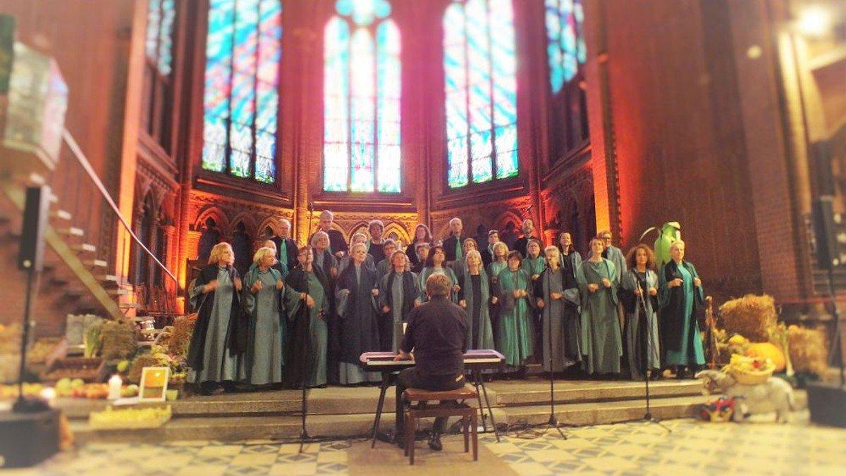 Musikalischer Gottesdienst zum Erntedankfest mit dem Gospelchor Hallelujah Children