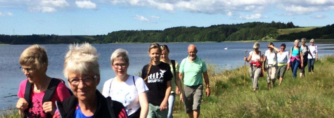Pilgrimsvandring ved Stubbergård Sø