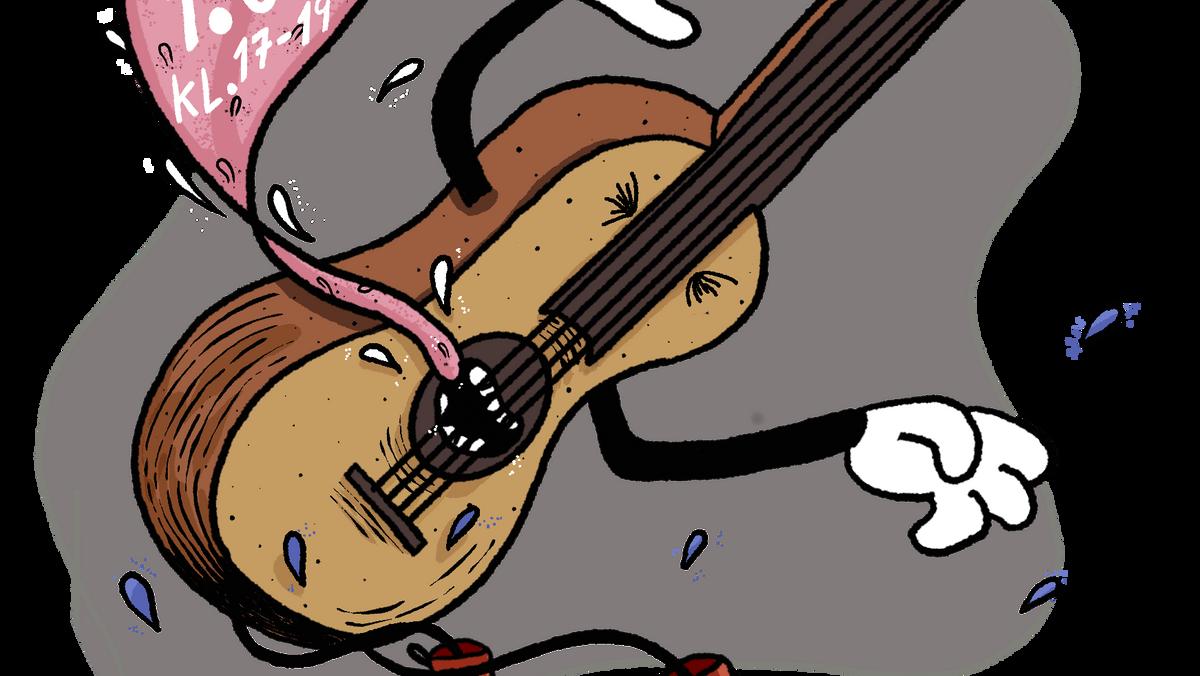 Børnegudstjeneste med Gurli Guitar