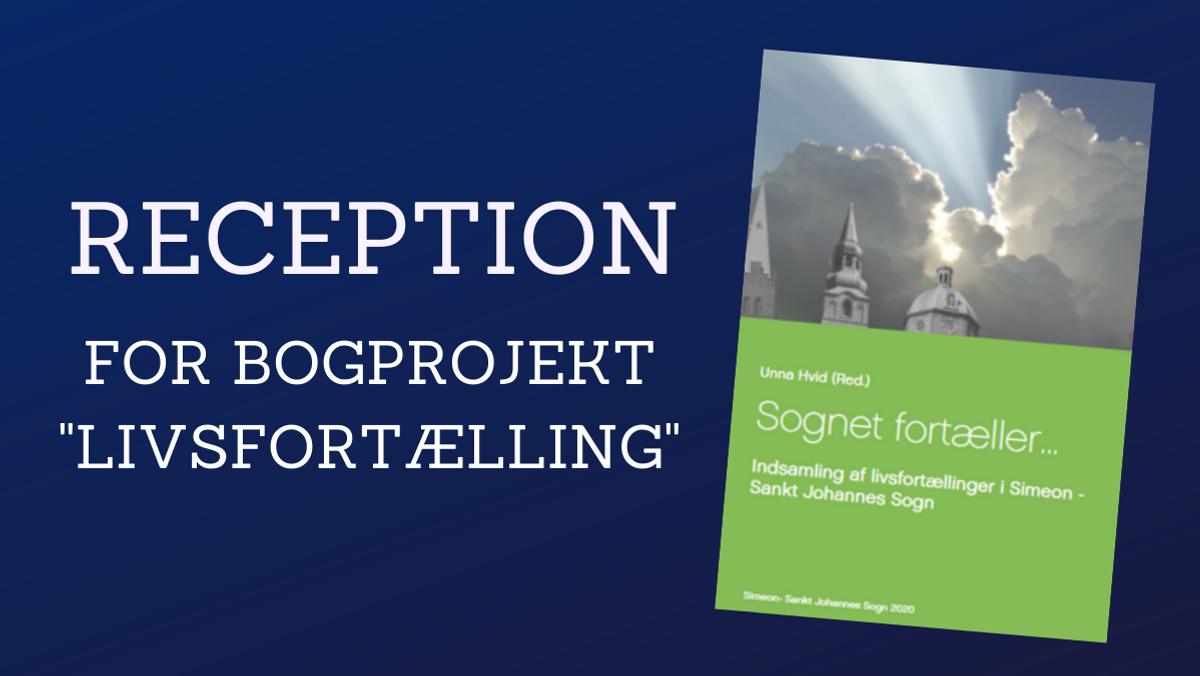 """Bogreception for bogprojekt """"Livsfortællinger"""""""