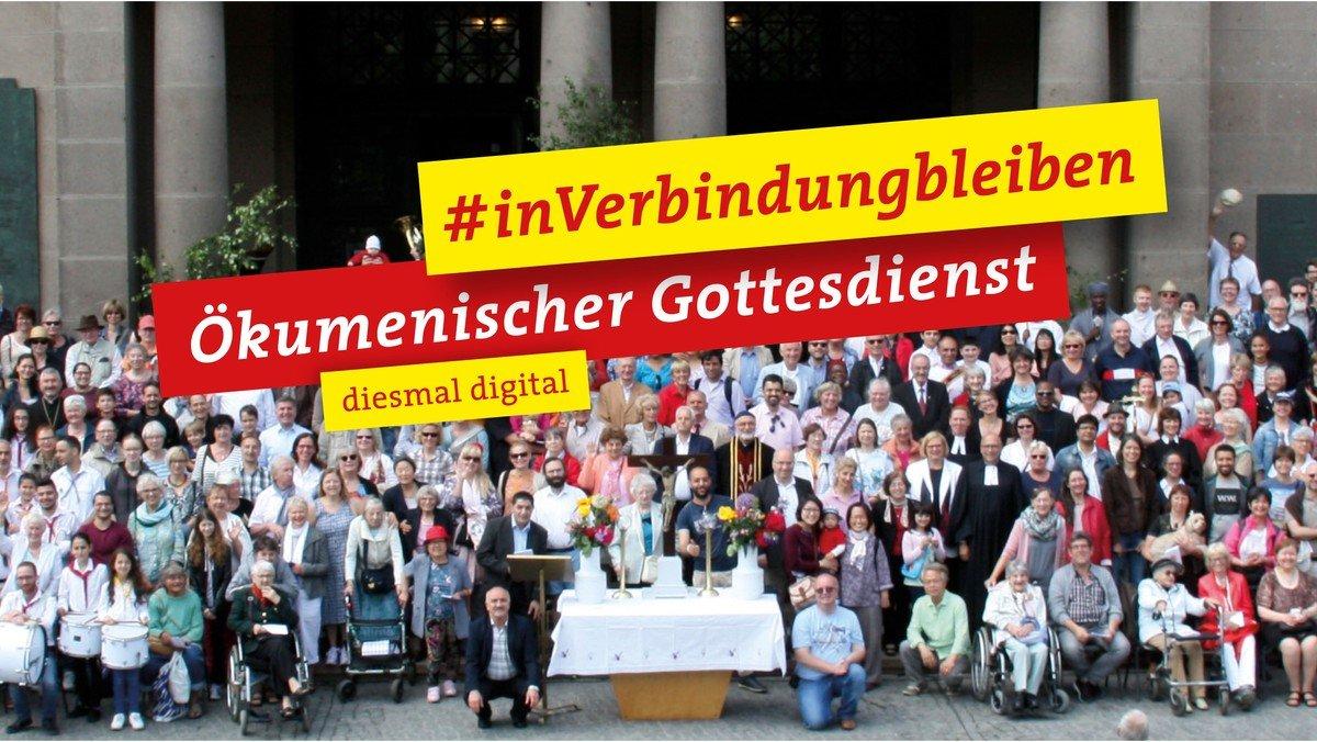 Ökumenischer Pfingstmontagsgottesdienst: #InVerbindungBleiben