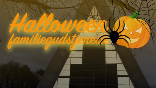 Halloweengudstjeneste for børnefamilier