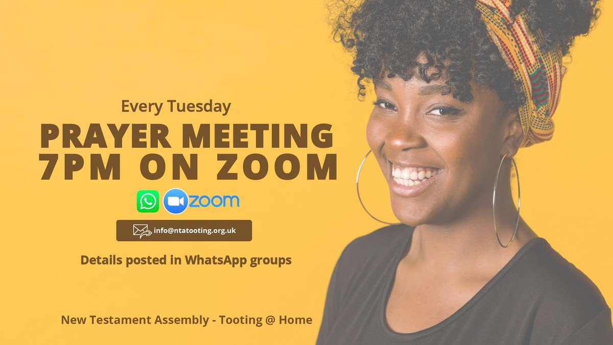 Online Prayer Meeting @ 7PM