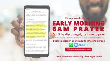 6AM Online Early Morning Young Adults Prayer