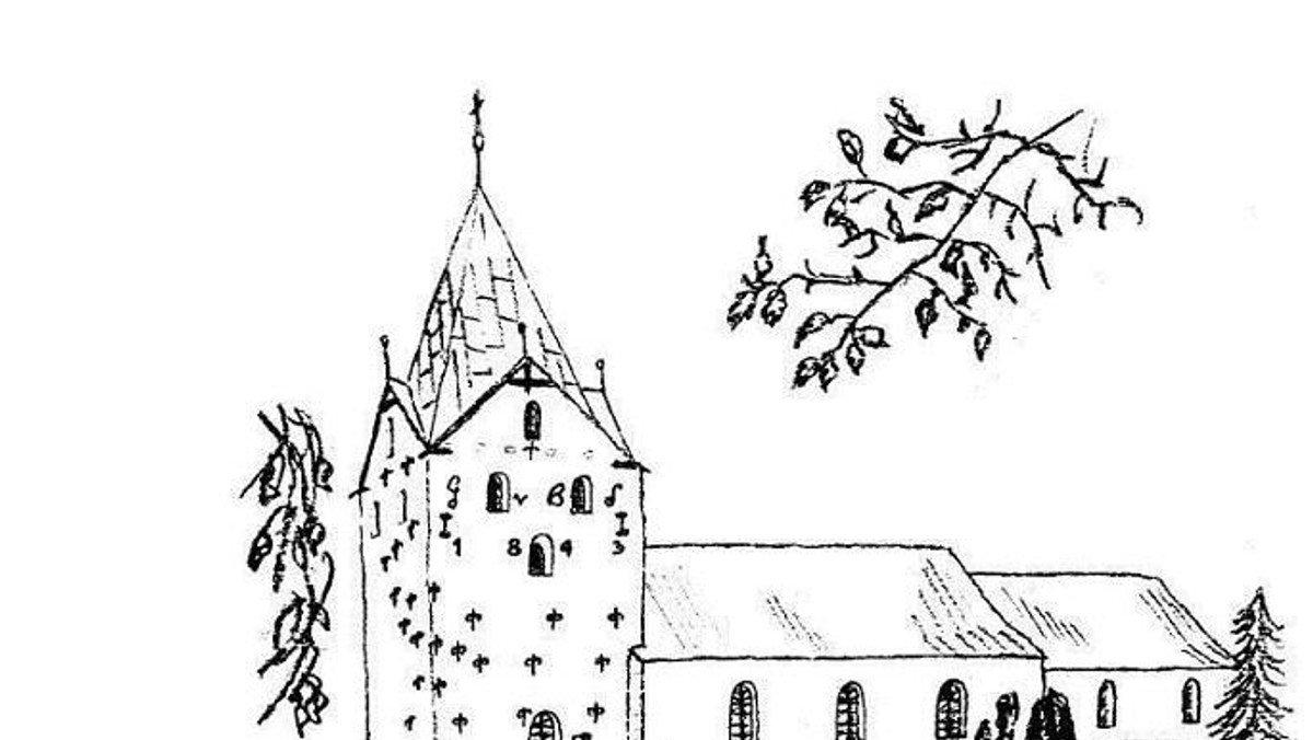 Gram Kirke: Gudstjeneste v. Gjesing