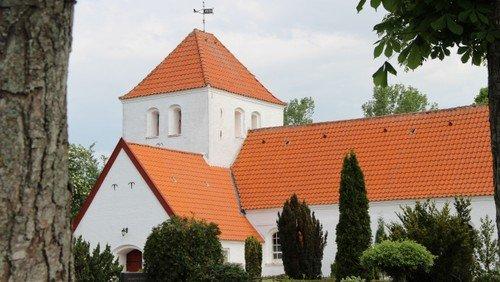 Gudstjeneste i Mou Kirke v/Niels Peter Gadegård Gubi