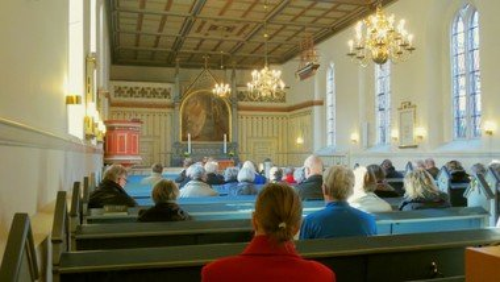 Morgensamling i Klosterkirken