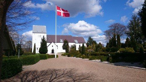 Morgenandagt i Nørre Snede kirke