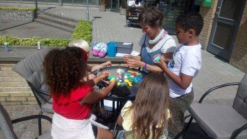 Sommeraktiviteter for børn på Grønlands Torv
